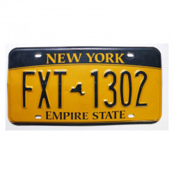 Plaque d Immatriculation USA - New York ( 1216 )