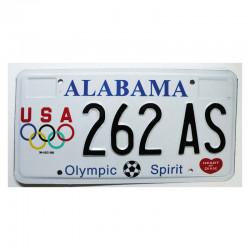 Plaque d Immatriculation USA - Alabama ( 1211 )