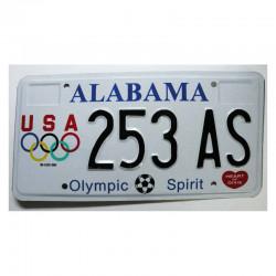 Plaque d Immatriculation USA - Alabama ( 1210 )