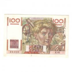 100 Francs Jeune Paysan 18/04/1946 SPL- ( 671 )