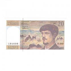 20 Francs Debussy 1993 Neuf ( 674 )