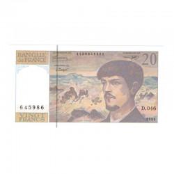 20 Francs Debussy 1993 Neuf ( 675 )