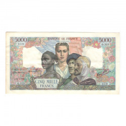 5000 Francs empire Francais 22/021945 SUP  ( 678 )