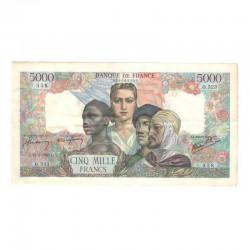 5000 Francs empire Francais 22/021945 SUP  ( 679 )