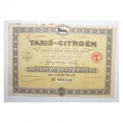 Action Ancienne: SA Taxis Citroen ( 768 )