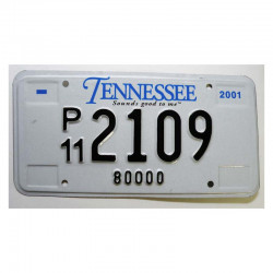 Plaque d Immatriculation USA - Tennessee ( 1241 )