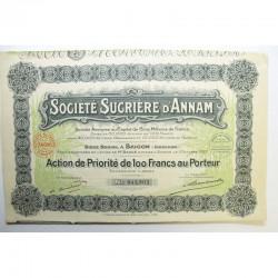 Action Anciene Ste sucriere d Aman ( 589 )