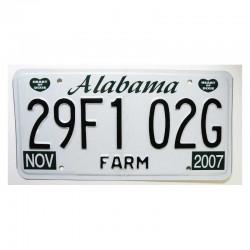 Plaque d Immatriculation USA - Alabama ( 1230 )