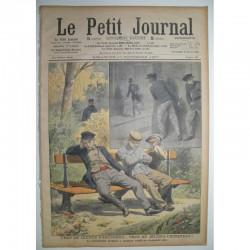 Le Petit Journal 1907 N° 887 jeunes paresseux