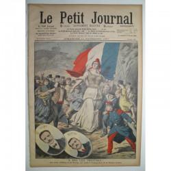Le Petit Journal 1907 N° 886 a bas les traitres