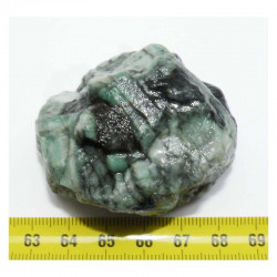 émeraude brute ( Bresil - 110 grs - 050 )