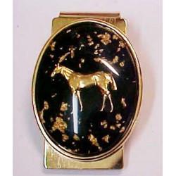 Pince a billet Mustang avec de vrais pépites d or
