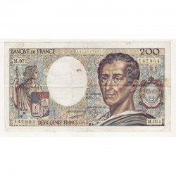 200 Francs Montesquieu 1989 M071 TTB ( 313 )