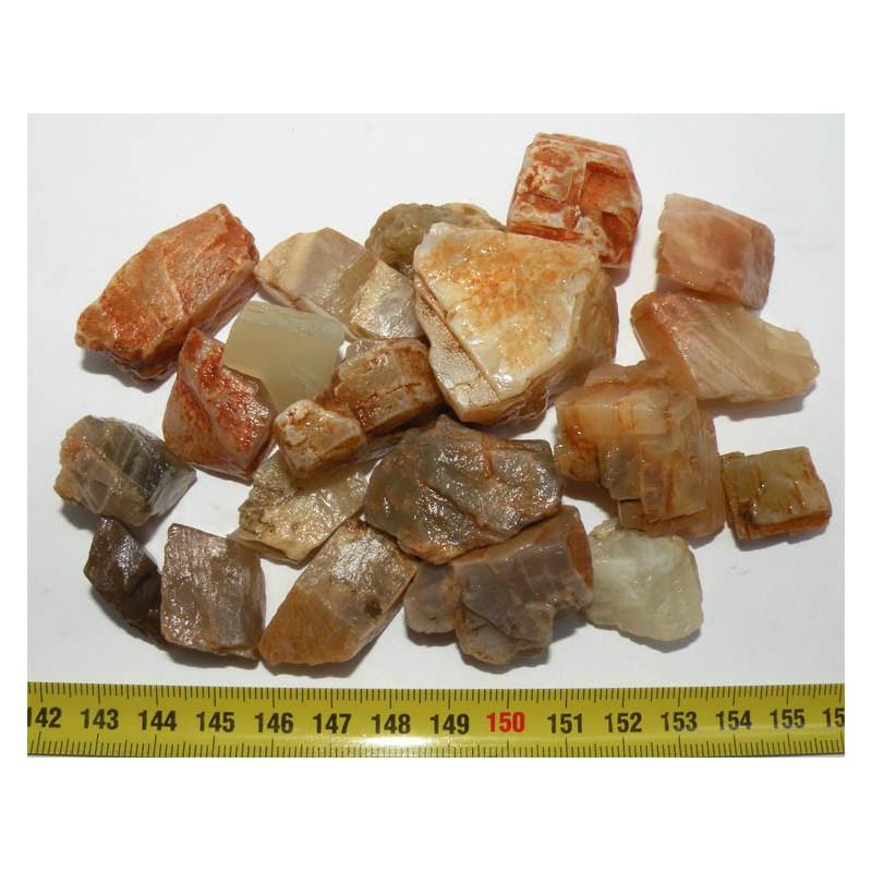 lot de pierre de lune naturelle ( Indes - 200 grs - 014 )
