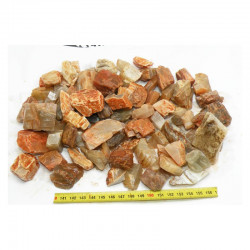 lot de pierre de lune naturelle ( Indes - 1 kilo - 001 )