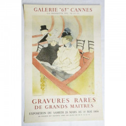 Affiche Galerie 65 / Cannes / Grands Maitres ( 63 )