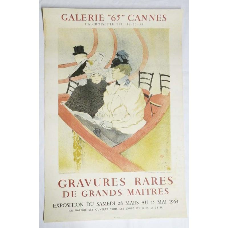 Affiche Galerie 65 / Cannes / Grands Maitres ( 63 )