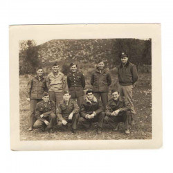 WWII Photo 47 ° Division Americaine Overseas ( 039 )