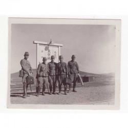 WWII Photo de soldat Japonais - guerre de Russie ( 46 )