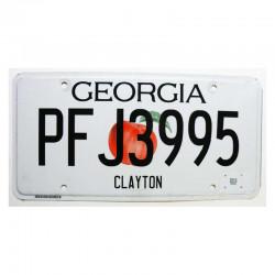 Plaque d Immatriculation USA - Georgia ( 1245 )