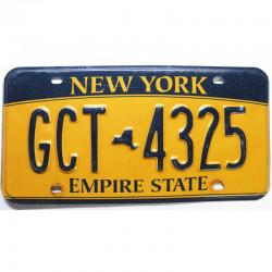 Plaque d Immatriculation USA - New York ( 1214 )
