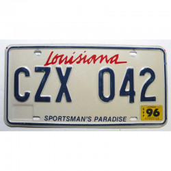 Plaque d Immatriculation USA - Louisiana ( 1143 )