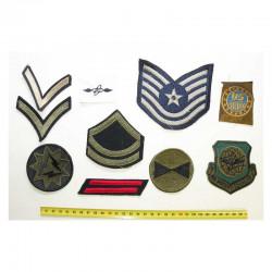 lot de 10 Patchs US Epoque Vietnam a 1990 ( 155 )