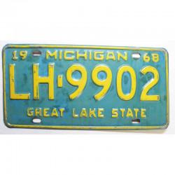 Plaque d Immatriculation USA - Michigan ( 724 )