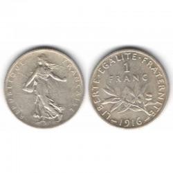 1 franc semeuse 1916 argent ( 006 )