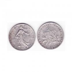 2 francs semeuse 1899 argent ( 004 )