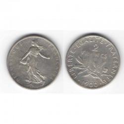 2 francs semeuse 1900 argent ( 003 )