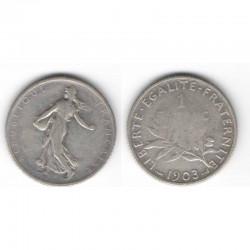 1 franc semeuse 1903 argent ( 002 )