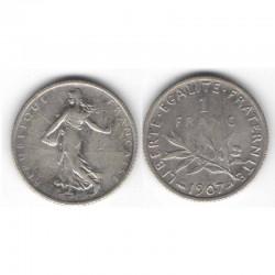 1 franc semeuse 1907 argent ( 006 )