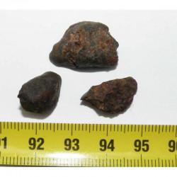 lot de 3 Meteorite Sayh al Uhaymir 001 ( 7.20 grs - 004  )
