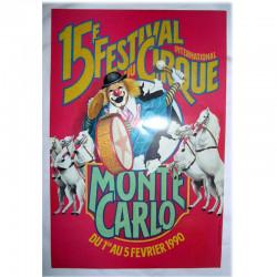 Festival international du Cirque de Monaco 1990