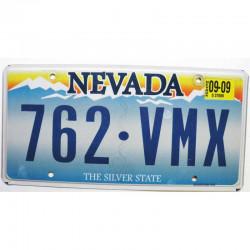 Plaque d Immatriculation USA - Nevada 2009 ( 524 )