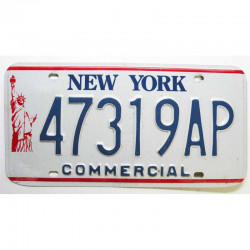 Plaque d Immatriculation USA - New York ( 835 )