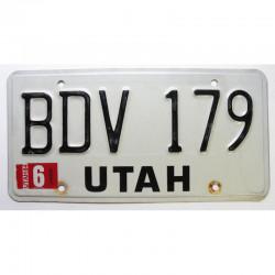 Plaque d Immatriculation USA - Utah 1984 ( 203 )