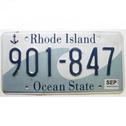 Plaque d Immatriculation USA - Rhode Island 2010 ( 360 )