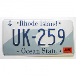 Plaque d Immatriculation USA - Rhode Island 2003 ( 254 )