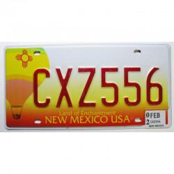 Plaque d Immatriculation USA - New Mexico  2002 ( 364 )
