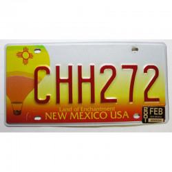 Plaque d Immatriculation USA - New Mexico  2001 ( 474 )