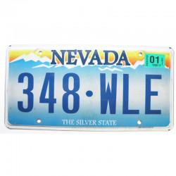 Plaque d Immatriculation USA - Nevada 2011 ( 1079 )