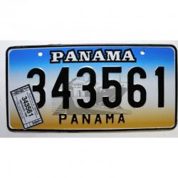 Plaque d Immatriculation Panama 1999 ( 1273 )
