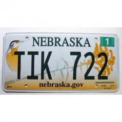 Plaque d Immatriculation USA - Nebraska 2007 ( 305 )