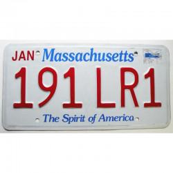 Plaque d Immatriculation USA - Massachusetts ( 230  )