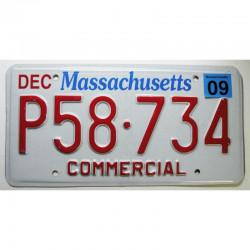 Plaque d Immatriculation USA - Massachusetts 2009 ( 501 )