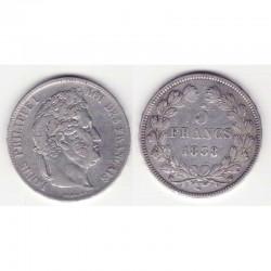 5 francs Louis Philippe 1838 W Argent ( 001 )