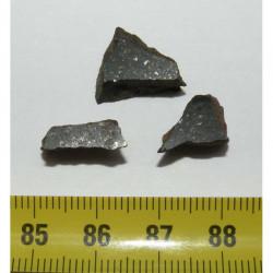 3 Meteorites Lahoma (  4.00 grammes - 011 )