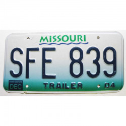 Plaque d Immatriculation USA - Missouri 2004 ( 1297 )